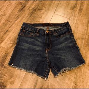 BDG high rise denim shorts size 30
